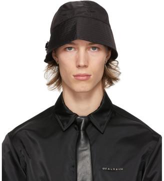 Alyx Black Narrow Buckle Bucket Hat