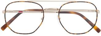 Liu Jo Round Tortoise-Shell Glasses