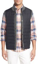 Barbour Men's 'Essential' Tailored Fit Mixed Media Vest