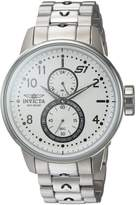 Invicta Men's 'S1 Rally' Quartz Stainless Steel Casual Watch, Color: Silver-Toned (Model: 23059)