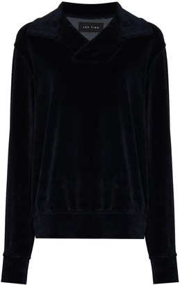 LES TIEN Yacht V-neck sweatshirt