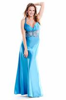 Nina Canacci - J4897 Dress in Turqouise
