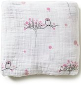 Aden Anais Aden + Anais Baby Girls For The Birds Fitted Crib Sheet