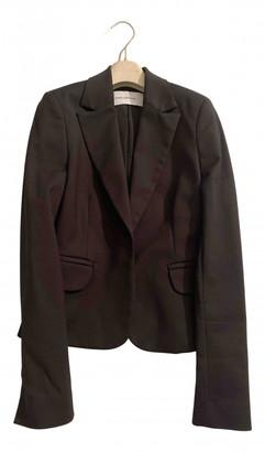 Flavio Castellani Black Wool Jackets