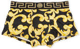 Versace Barocco-Print Low-Rise Trunks