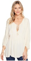 Billabong Gold Dust Woven Top Women's Clothing