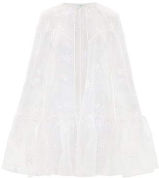 Erdem Angelo Lace Cape - White