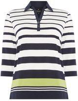 Tigi Engineered Stripe Polo Shirt
