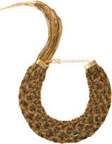 Rosantica Forza Gold-Tone Brass Necklace