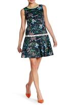 Vivienne Tam Chinese Garden Print Dress