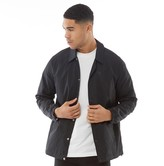 Converse Mens Star Chevron Coaches Jacket Black
