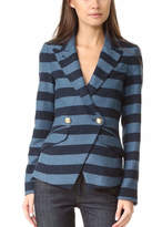 Smythe Blue Striped Blazer