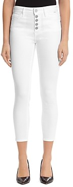 Mavi Jeans Tess Button-Up Jeans in White