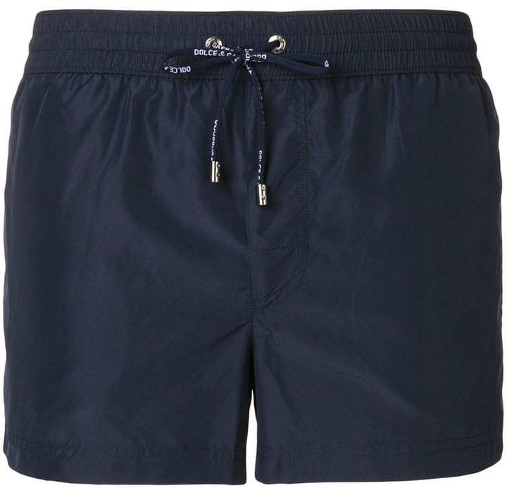 Dolce & Gabbana short length beach shorts