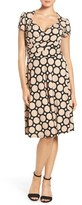 Leota Women's Print Jersey Fit & Flare Dress