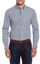 David Donahue Men's Check Sport Shirt