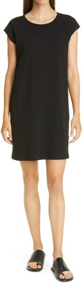 Eileen Fisher Organic Cotton Jersey Shift Dress