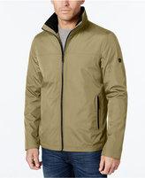 Calvin Klein Men's Big & Tall Lightweight Full-Zip Stand-Collar Jacket