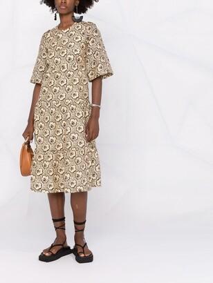 BA&SH Gabie floral-print dress