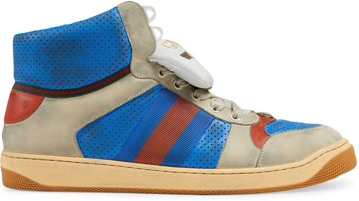 576722fcb Gucci High Top Sneakers For Men - ShopStyle UK
