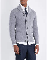 Thom Sweeney Cable-knit Cashmere Cardigan
