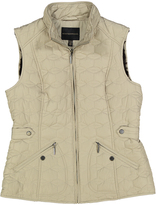 Weatherproof Bone Puffer Vest - Plus Too