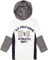 U.S. Polo Assn. White 'US Athletic Dept.' Hoodie - Boys