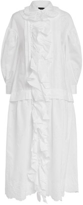 Simone Rocha Ruffle-Detail Smock Dress