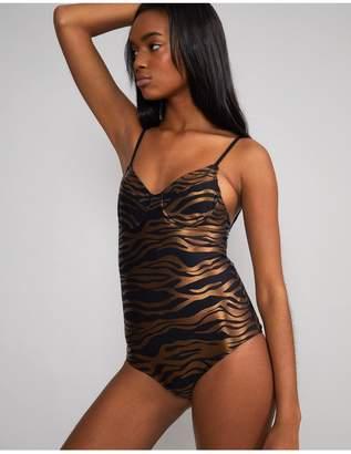 Cynthia Rowley Zebra Sandi Swimsuit - Extended Sizes Available