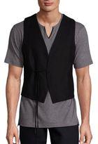 The Kooples Solid Wool Vest