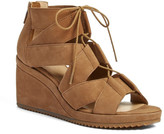 Eileen Fisher Dibs Lace-Up Wedge Sandal