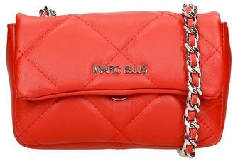 Marc Ellis Madelyn S Shoulder Bag In Red Leather