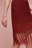 Moon River Fringeknit Skirt