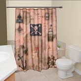 Borders Unlimited Pirate's Treasure - Map Shower Curtain