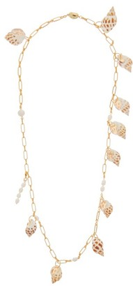 Timeless Pearly Pearl & Shell Gold-plated Chain Necklace - Multi