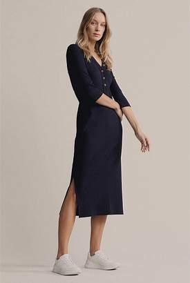 Witchery Ribbed Jersey Dress