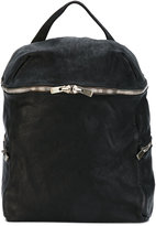 Guidi side zip backpack - unisex - Horse Leather - One Size