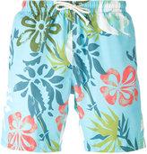 Drumohr printed drawstring swim shorts - men - Polyester - S