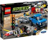 Lego Ford F-150 raptor and Model A hot rod set