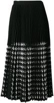 MSGM midi pleated skirt - women - Polyester - 40