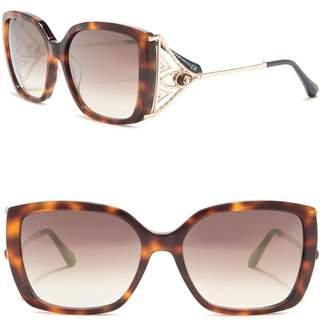 Roberto Cavalli Giaole 55mm Oversized Sunglasses