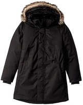 The North Face Kids Arctic Swirl Down Jacket (Little Kids/Big Kids) (TNF Black/TNF Black/TNF Black) Girl's Coat