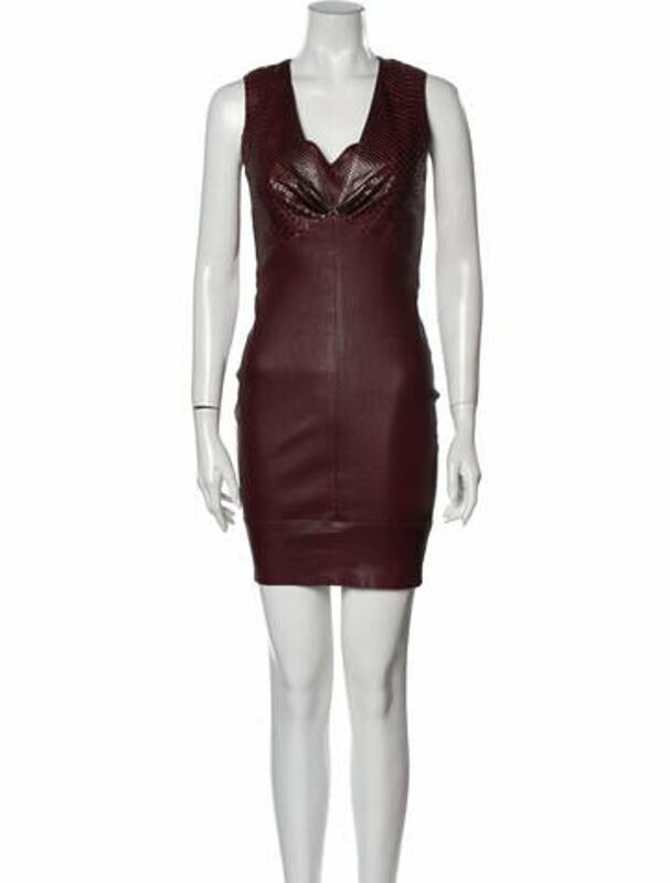 Thumbnail for your product : Jitrois Cowl Neck Mini Dress w/ Tags