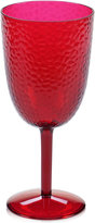Certified International Acrylic Ruby-Tone All-Purpose Goblet