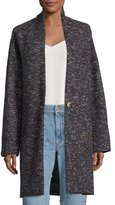 Isabel Marant Osbert Oversized Single-Button Coat