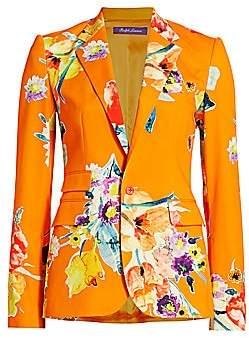 Ralph Lauren Women's Parker Floral Jacket