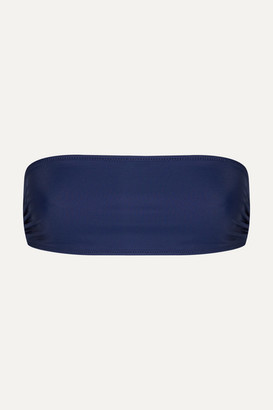 Solid & Striped The Annabelle Bandeau Bikini Top - Navy