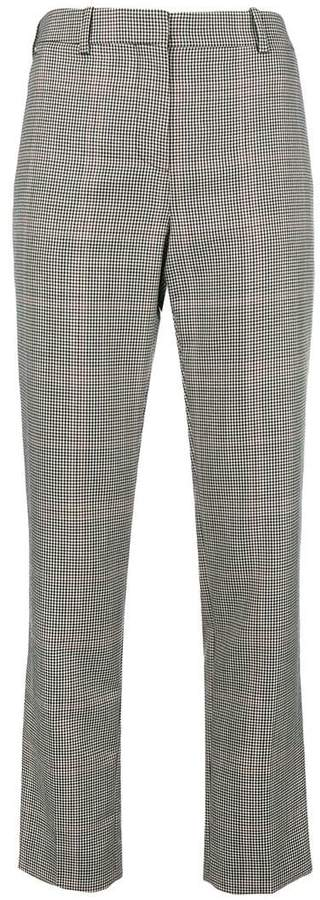 Givenchy plaid tailored trousers