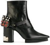 Toga Pulla embellished heel boots