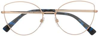 Valentino Eyewear Cat-Eye Clear Lens Glasses